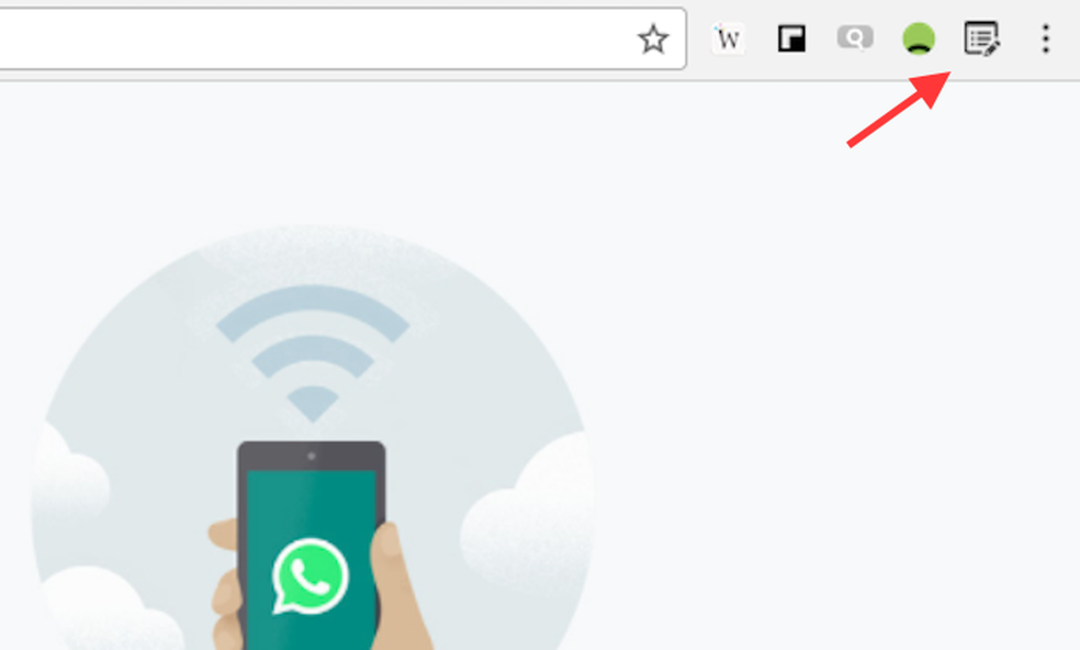 Ação para abrir as opções da extensão W. Beautifier do Google Chrome (Foto: Reprodução/Marvin Costa)