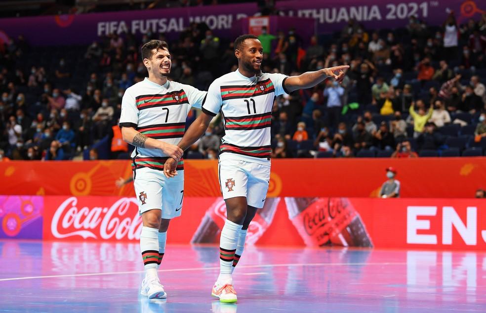 Portugal vence Espanha e vai à semi na Copa do Mundo de futsal
