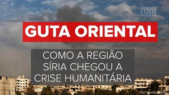 Guta Oriental: entenda como região da Síria sob intenso ataque chegou a crise humanitária