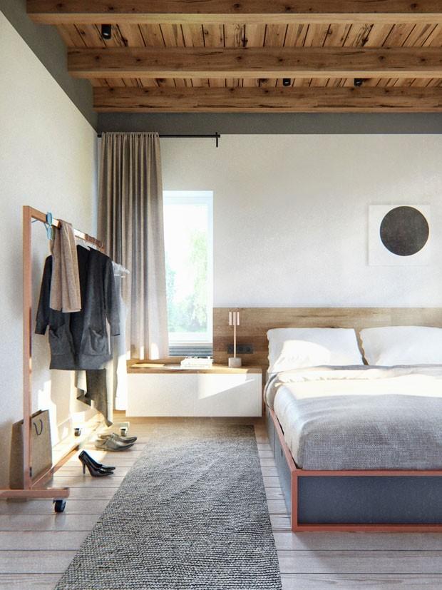 6 quartos com decoração escandinava para inspirar (Foto: Divulgação)