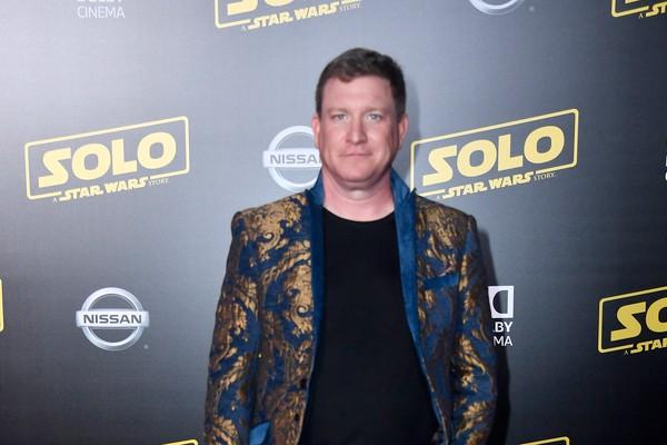 O ator Stoney Westmoreland durante o red carpet do lançamento de Han Solo: Uma Aventura Star Wars (2018), no início de 2018 (Foto: Getty Images)