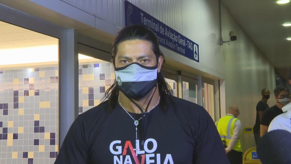 Hulk, atacante do Atlético-MG — Foto: Globo