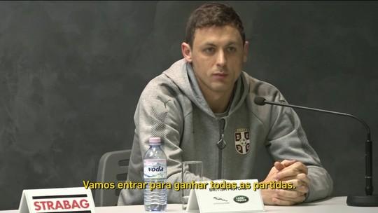 Sérvia troca de capitão e dá poder a Kolarov e Matic