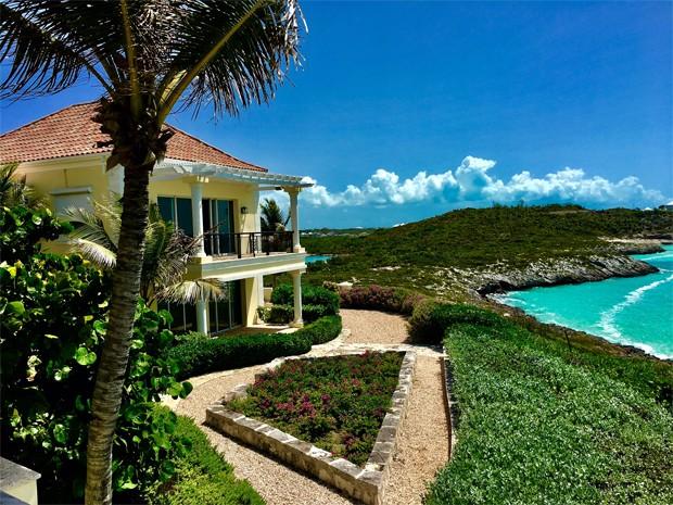 Mansão de Prince em ilha privativa (Foto: Reprodução/Divulgação)