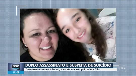 Mãe e filha encontradas mortas em Ibirama são veladas nesta quarta-feira