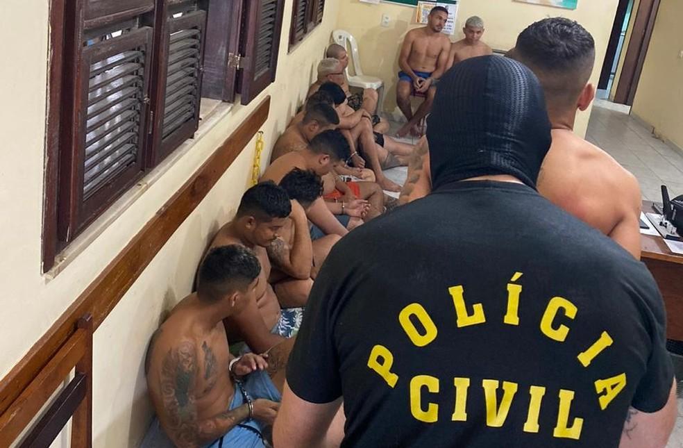 Bando foi preso com cocaína, loló e ecstasy — Foto: Polícia Civil/Divulgação