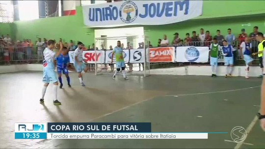 Paracambi abre vantagem, leva empate, mas deslancha e vence Itatiaia por 6 a 3