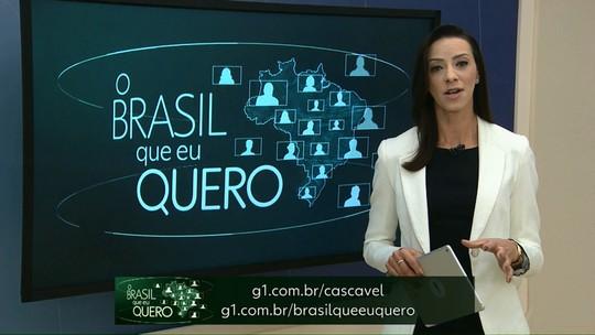 """Moradores de Iracema do Oeste são convidados a participar do """"O Brasil que eu Quero"""""""