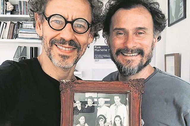 Emilio de Mello e Enrique Diaz (Foto: Divulgação)