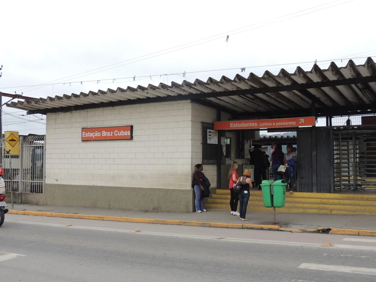 Estação Brás Cubas da CPTM é interditada no sentido Mogi para obras
