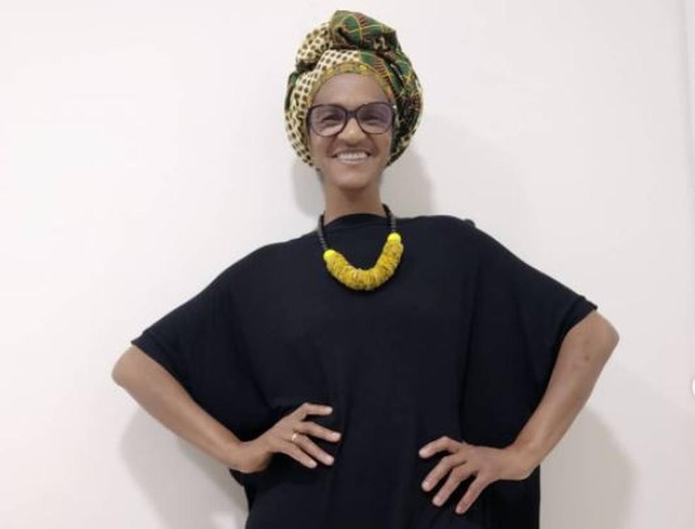 Ana Lúcia Martins foi a primeira vereadora negra eleita de Joinville — Foto: Redes sociais/Reprodução