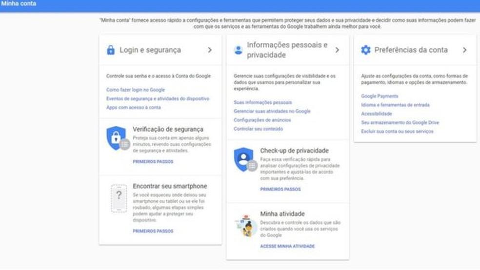 As configurações de privacidade permitem que o usuário impeça seus dados de serem repassados a anunciantes — Foto: Reprodução