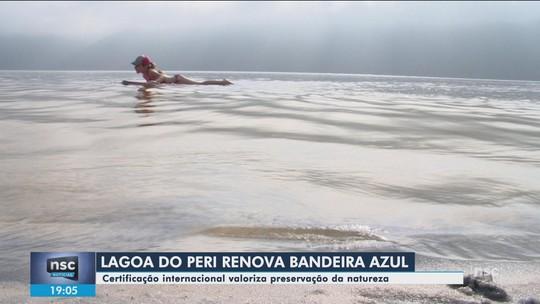 SC tem 9 das 15 bandeiras azuis de certificação ambiental no Brasil