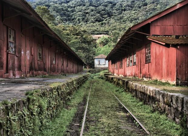 Galpões abandonados em Paranapiacaba, São Paulo, Brasil (Foto: Getty Images/iStockphoto)