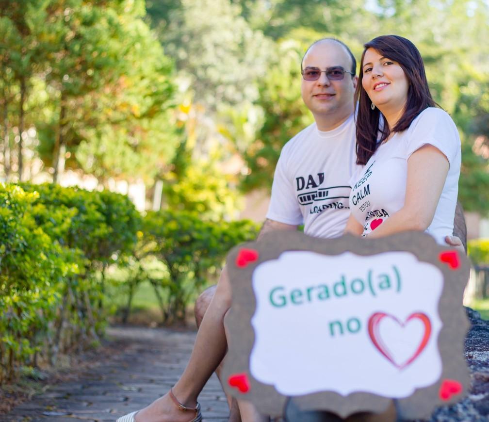 Vani organizou o ensaio para poder lembrar esta fase da vida que vive com o marido. (Foto: Arquivo Pessoal/ Vani Pestana)