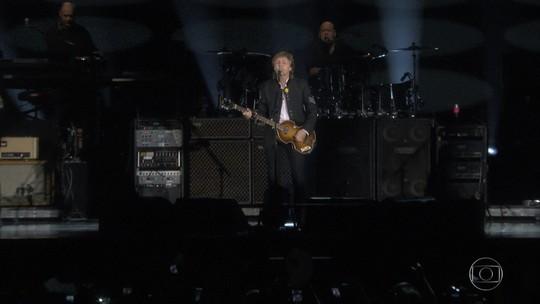Mais de 50 mil pessoas matam a saudade de Paul McCartney em BH