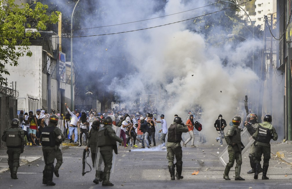 venezuela - ONU diz que mais de 40 pessoas morreram e 850 foram presas na Venezuela