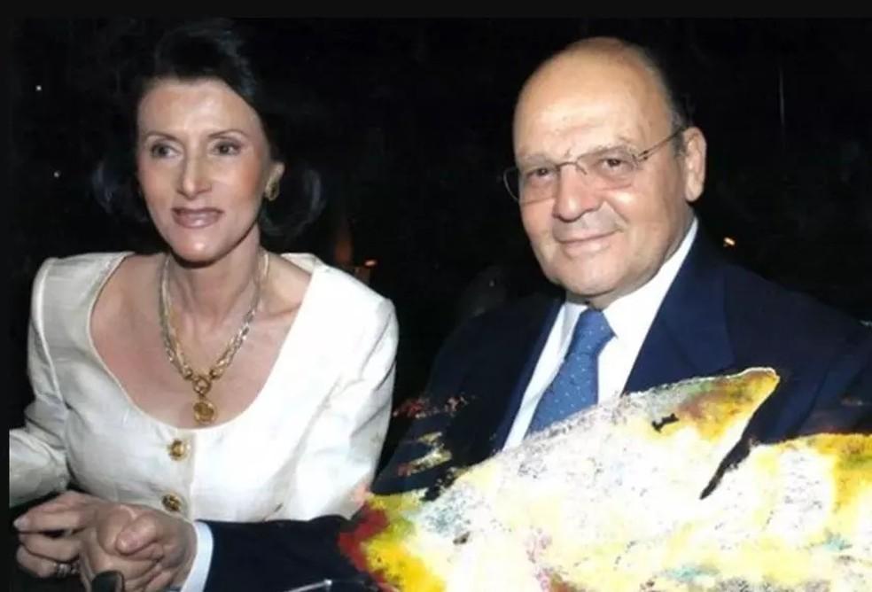 Maria Carvalho Mendes Villela e José Guilherme Villela, mortos em 2009 em apartamento na Asa Sul — Foto: Arquivo pessoal