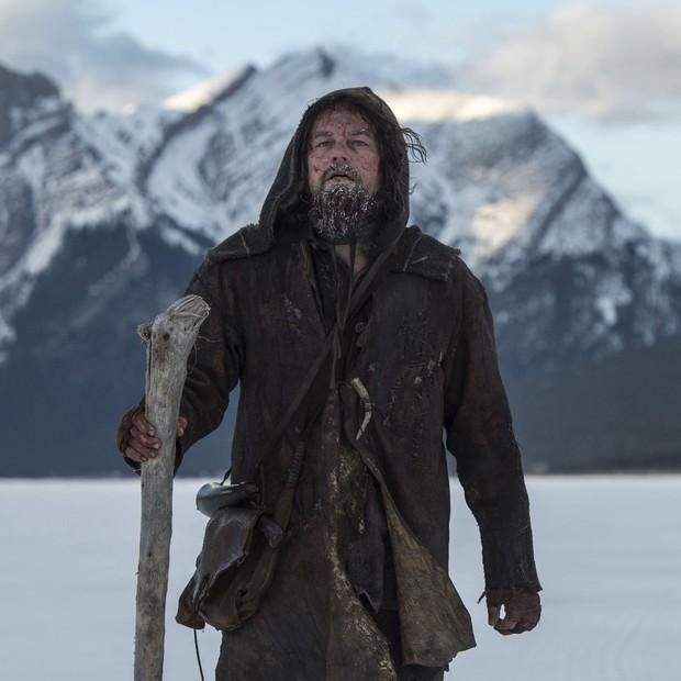 Leonardo DiCaprio em cena de 'O Regresso' (Foto: Divulgação)