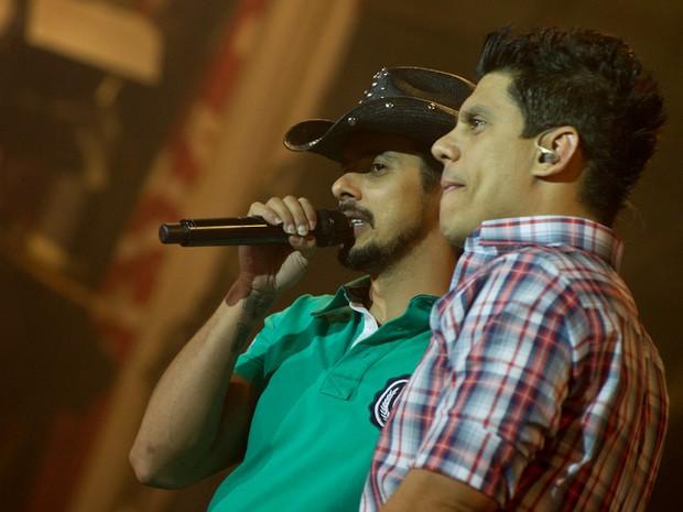 João Carreiro e Capataz. (Foto: Flavio Moraes / G1)