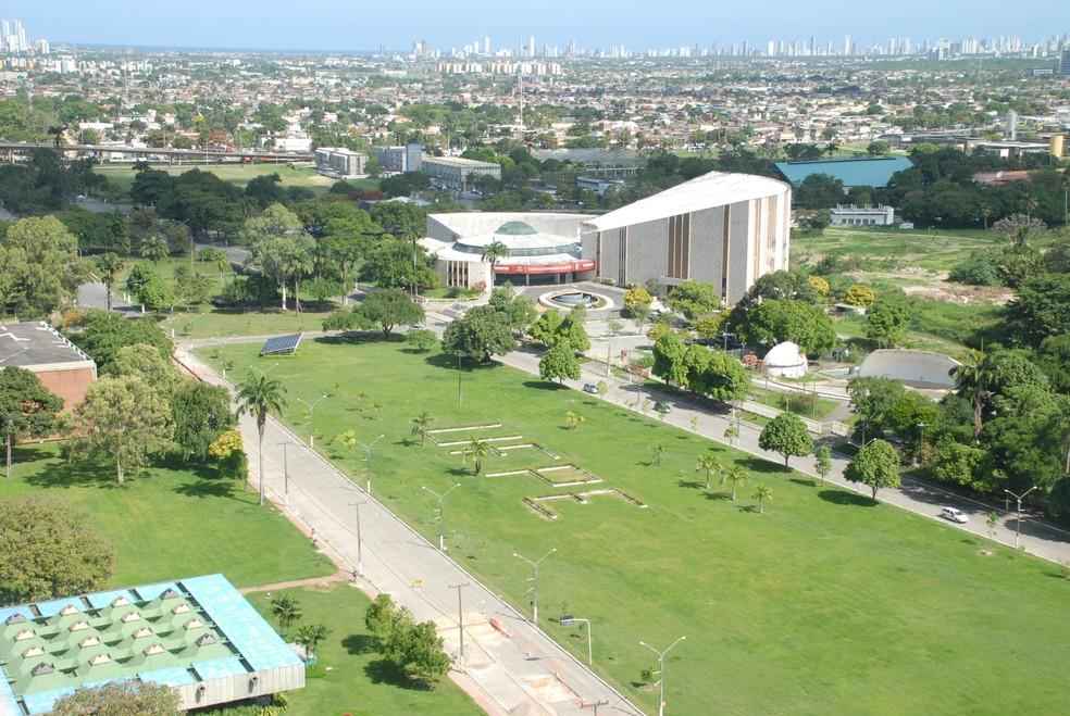 Campus da UFPE no Recife — Foto: Ascom UFPE/Divulgação