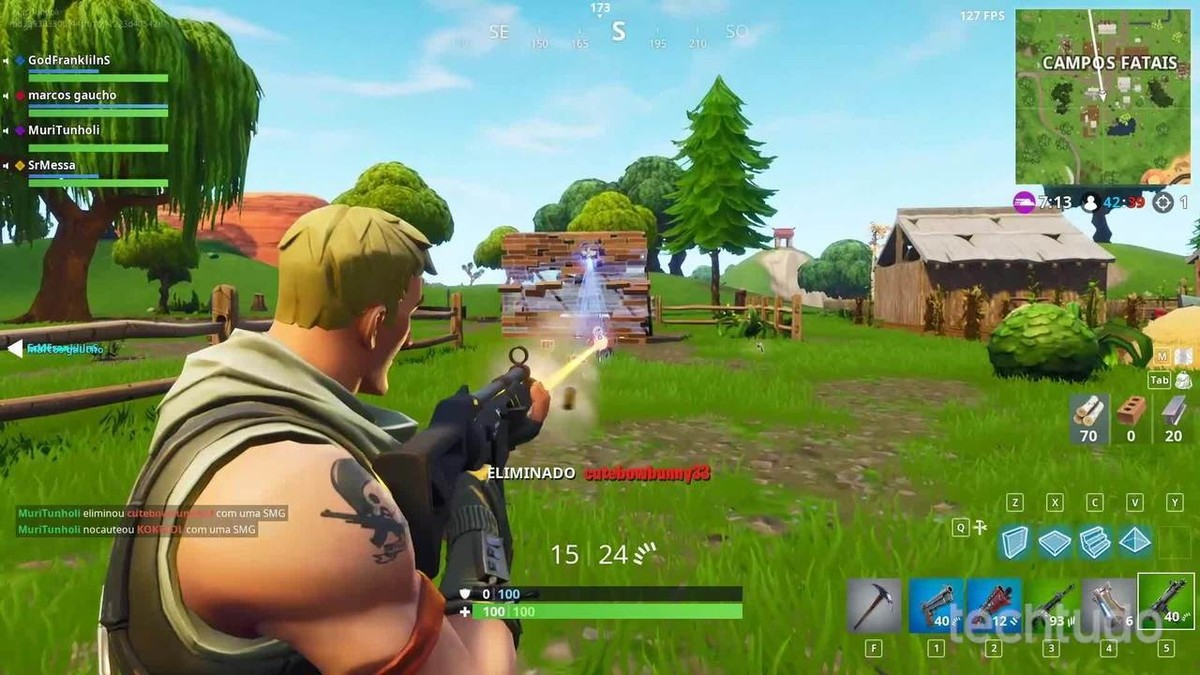 fortnite battle royale view tips to build better in the game action games - how to increase fps on fortnite ps4