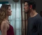 'Espelho da vida': Isabel (Alinne Moraes) e Alain (João Vicente de Castro) | TV Globo