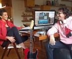 Aline Midlej e Rodrigo Cebrian | Arquivo pessoal