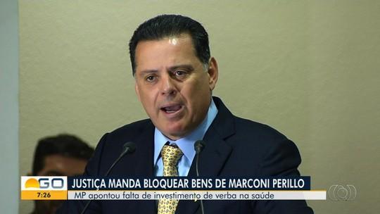 Juíza manda bloquear R$ 550 milhões de Marconi Perillo por suspeita de irregularidades