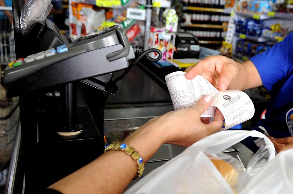 Consumidores têm até junho para requerer benefício em dinheiro do Nota Legal (Foto: Gabriel Jabur/Agência Brasília)