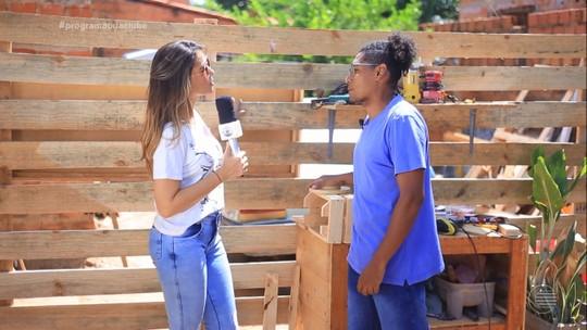 Conheça Alisson Moreira, artesão que encontrou no Palete uma nova forma de garantir a renda
