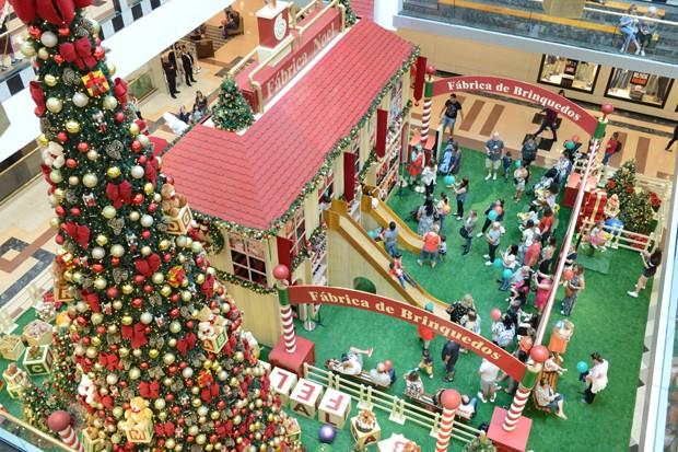 10 lugares em São Paulo com decoração natalina para levar as crianças  (Foto: Divulgação )