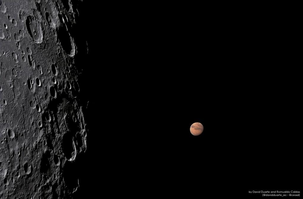Foto de astrônomos amadores de Alagoas é destaque no site da Nasa