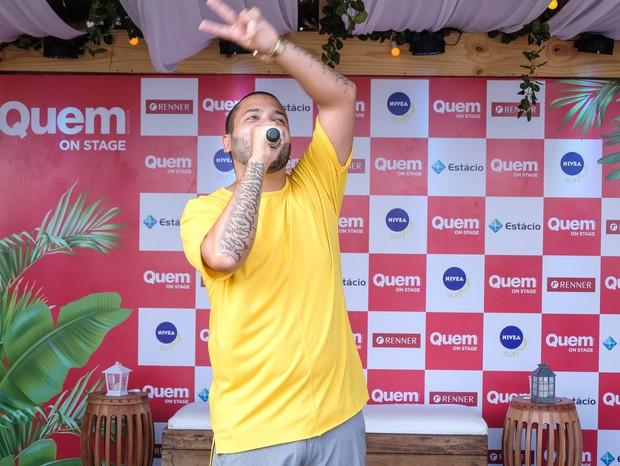 Projota no QUEM On Stage (Foto: Renato Wrobel/Editora Globo)