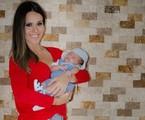 Fernanda Pontes e o caçula Matheus | Cris Brandi