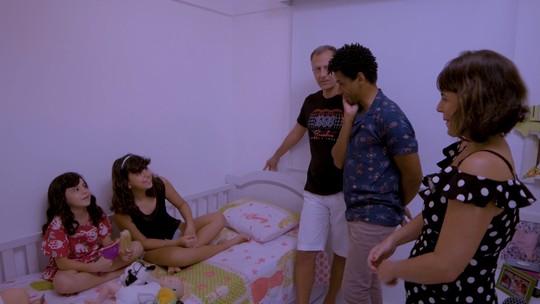 'Famílias em Movimento': Aldri conhece a vivência e afeto dos Gavião e dos Lucena