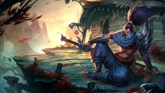 Foto: (League of Legends: Yasuo teve sua velocidade de ataque reduzida (Foto: Divulgação))