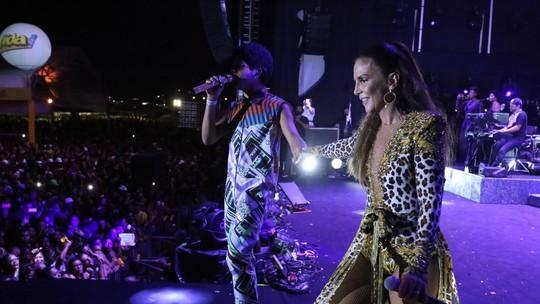 Ivete Sangalo e Samuel Marques se apresentam em Salvador e marcam de gravar juntos