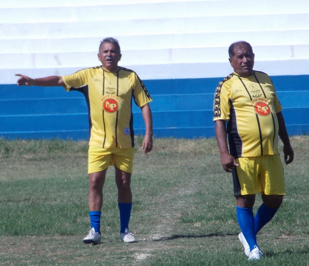 Gringo (à direita) (Foto: Blog do Jonys)