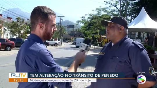 Trânsito em Penedo sofre alteração durante encontro de motos