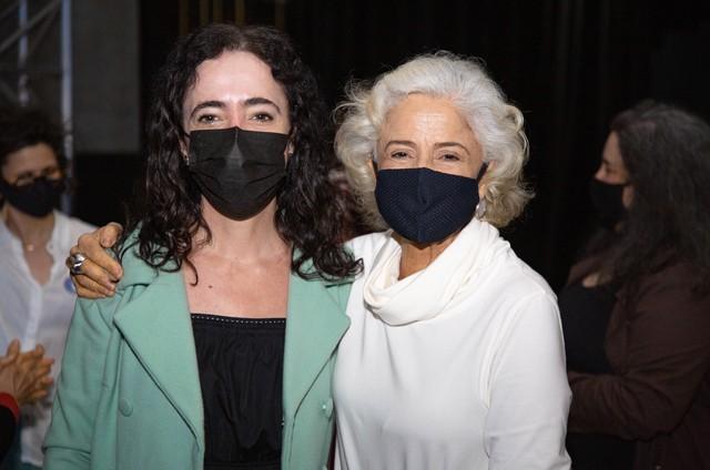 Silvia Buarque e Marieta Severo (Foto: Pedro Ivo)
