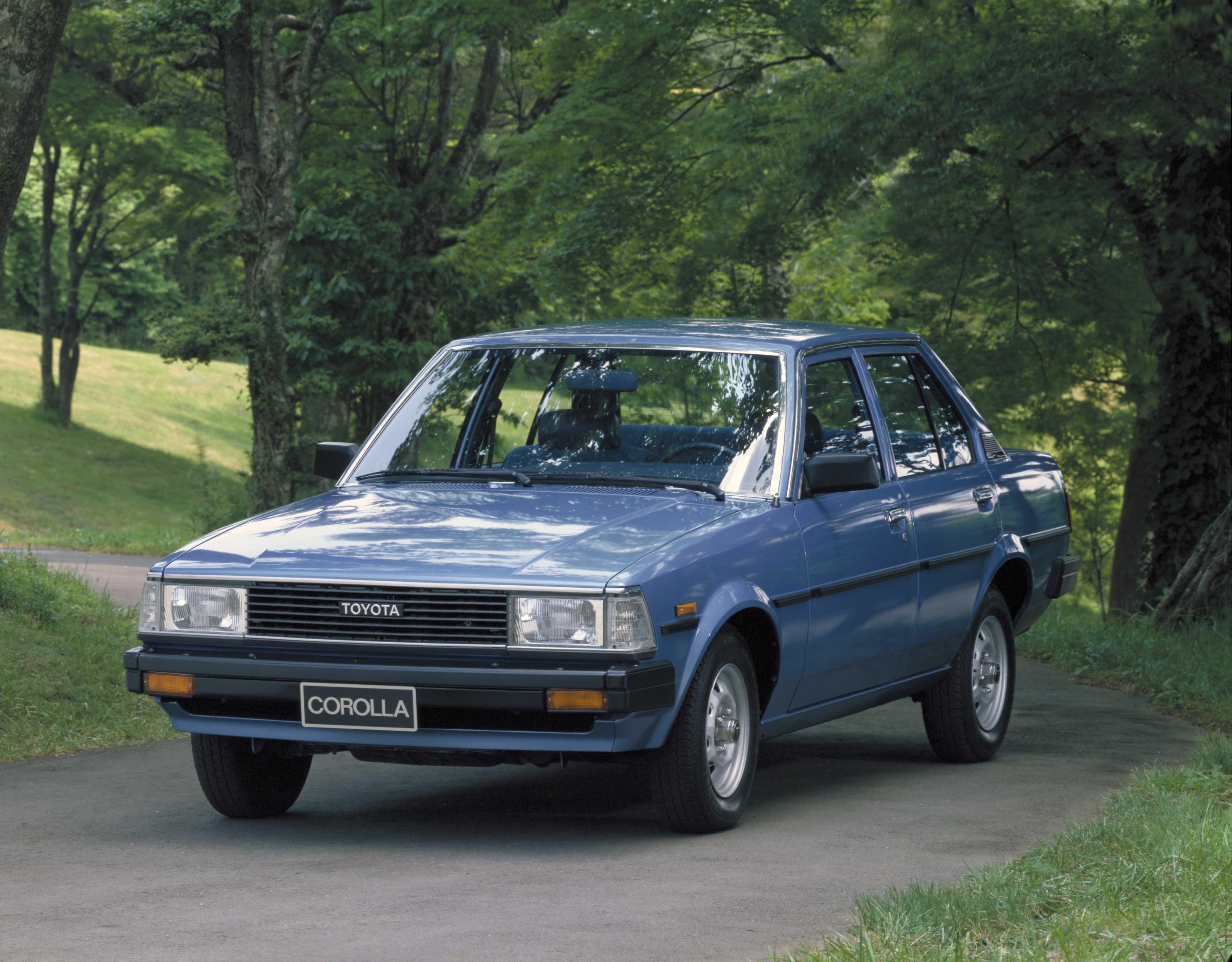 Toyota Corolla quarta geração - 1979