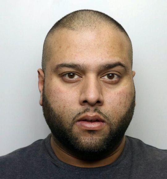 Sakhawat Hussain, 35 anos, foi condenado a 15 anos de prisão (Foto: Departamento de Polícia (Crown Court em West Yorkshire, Inglaterra))