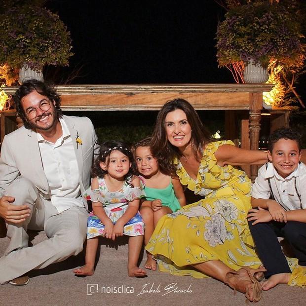 Fátima Bernardes e Túlio Gadelha (Foto: Instagram/Reprodução)