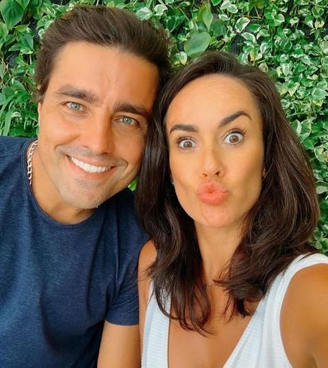 Ricardo e a mulher, Francisca (Foto: TV Globo)