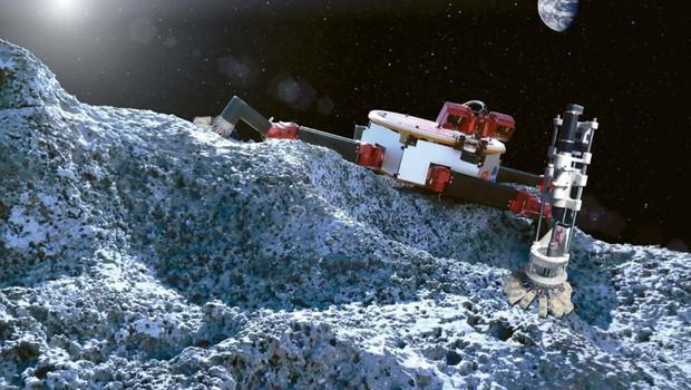mineração aeroespacial (Foto: Reprodução/ NASA)
