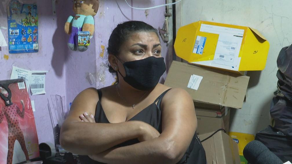 Claudilene levava quase 3 horas para levar a filha em escola especial. — Foto: Reprodução/TV Globo