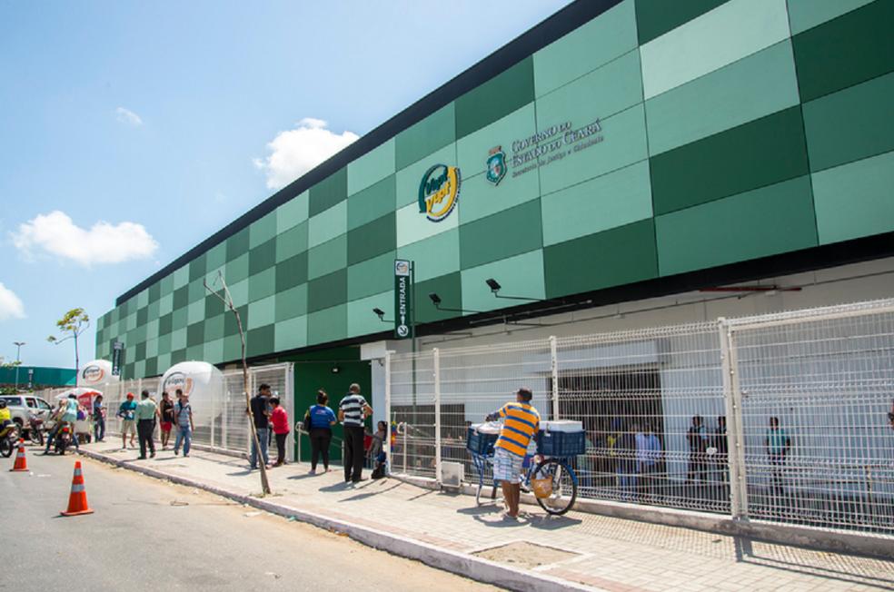 Vapt Vupt de Messejana é um dos locais que vão iniciar o serviço. (Foto: Governo do Ceará)