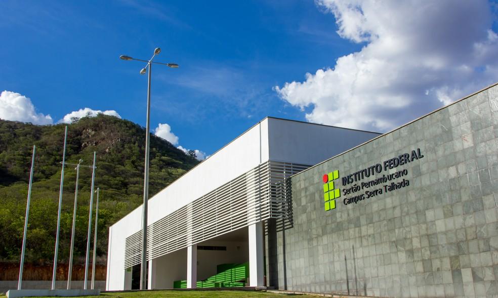 IF Sertão-PE campus Serra Talhada — Foto: Divulgação