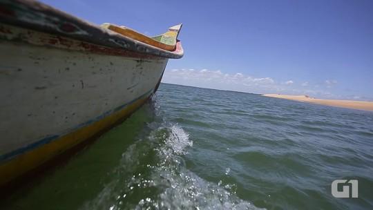 Ribeirinhos de Alagoas navegam até seis horas em busca de água potável